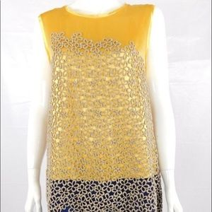 3.1 Phillip Lim Silk Lace Embroidered Dress size 6